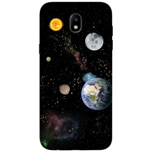 Husa Silicon Soft Upzz Print Samsung Galaxy J7 2017 Model Earth imagine itelmobile.ro 2021