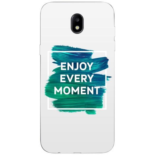 Husa Silicon Soft Upzz Print Samsung Galaxy J7 2017 Model Enjoy imagine itelmobile.ro 2021
