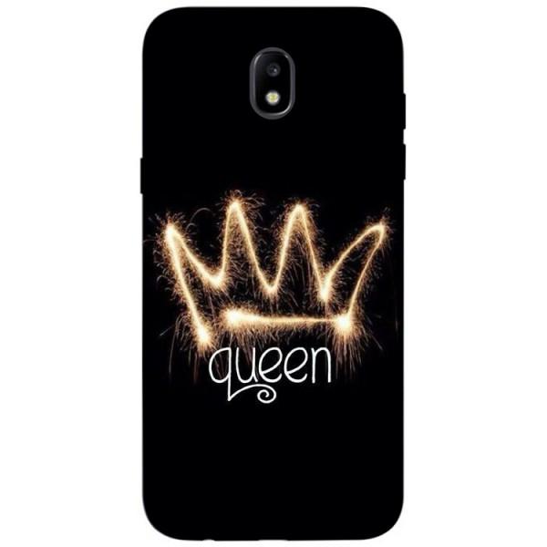 Husa Silicon Soft Upzz Print Samsung Galaxy J7 2017 Model Queen imagine itelmobile.ro 2021