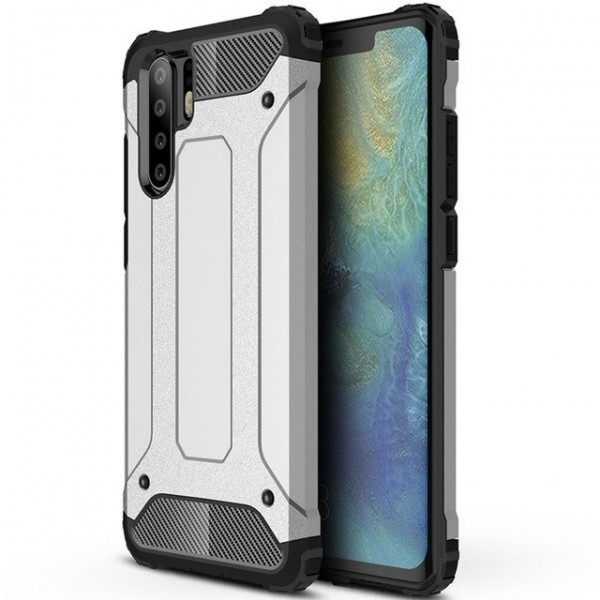 Husa Spate Armor Forcell Huawei P30 Pro Silver imagine itelmobile.ro 2021