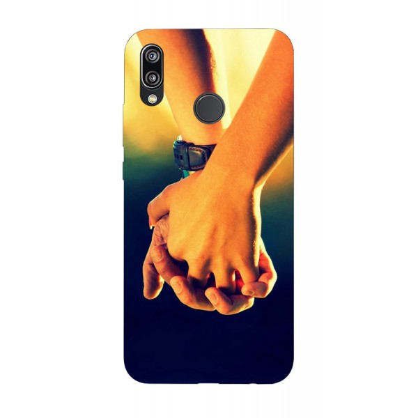 Husa Silicon Soft Upzz Print Huawei P20 Lite Model Together imagine itelmobile.ro 2021
