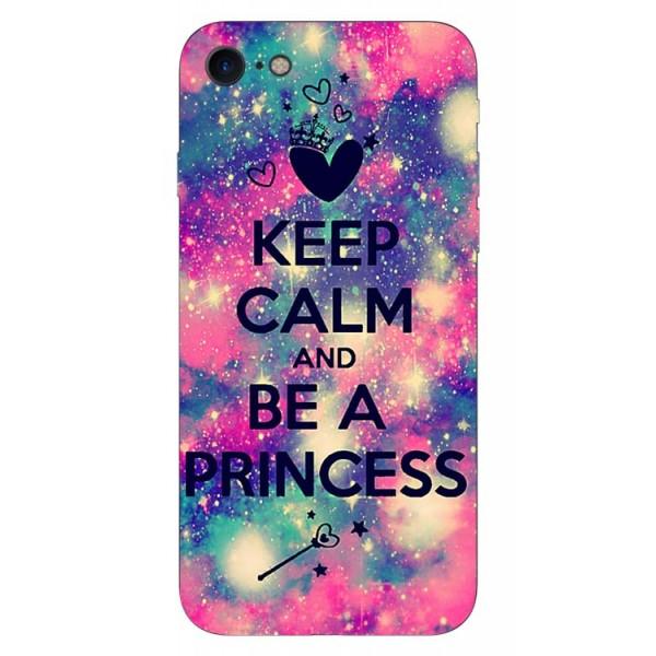 Husa Silicon Soft Upzz Print iPhone 7/iphone 8 Model Be Princess imagine itelmobile.ro 2021