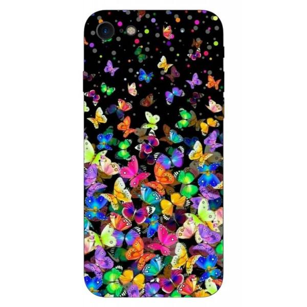 Husa Silicon Soft Upzz Print iPhone 7/iphone 8 Model Colorature imagine itelmobile.ro 2021