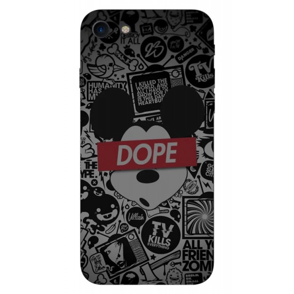 Husa Silicon Soft Upzz Print iPhone 7/iphone 8 Model Dope imagine itelmobile.ro 2021