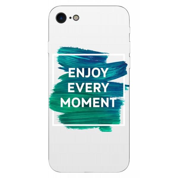 Husa Silicon Soft Upzz Print iPhone 7/iphone 8 Model Enjoy imagine itelmobile.ro 2021