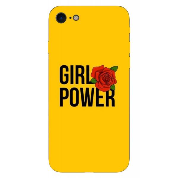 Husa Silicon Soft Upzz Print iPhone 7/iphone 8 Model Girl Power imagine itelmobile.ro 2021