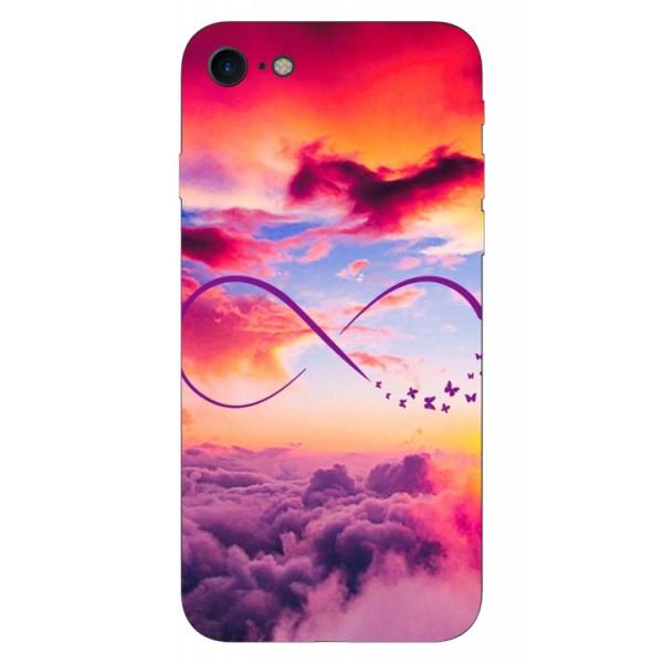 Husa Silicon Soft Upzz Print iPhone 7/iphone 8 Model Infinity imagine itelmobile.ro 2021