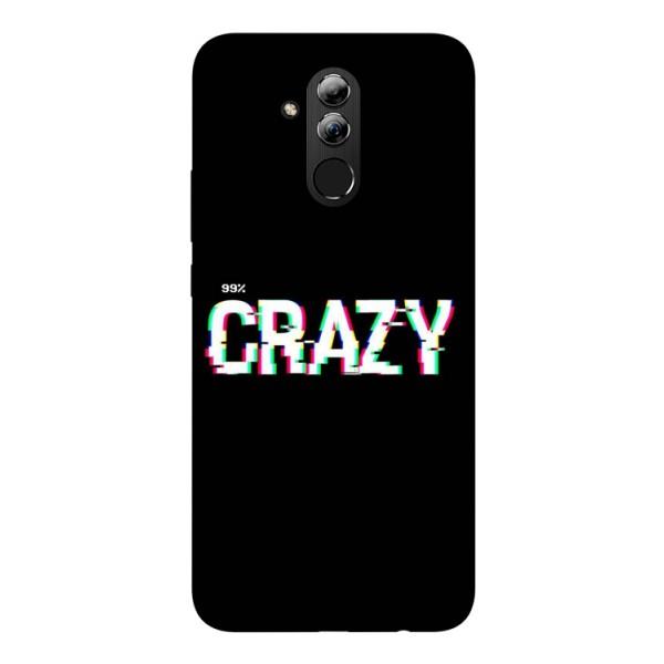 Husa Silicon Soft Upzz Print Huawei Mate 20 Lite Model Crazy imagine itelmobile.ro 2021