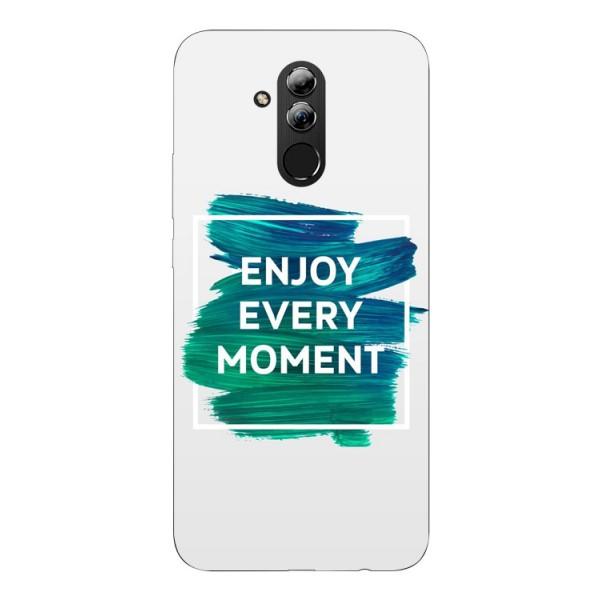 Husa Silicon Soft Upzz Print Huawei Mate 20 Lite Model Enjoy imagine itelmobile.ro 2021