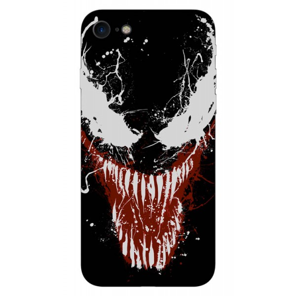 Husa Silicon Soft Upzz Print iPhone 7/iphone 8 Model Monster imagine itelmobile.ro 2021