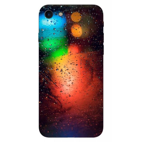 Husa Silicon Soft Upzz Print iPhone 7/iphone 8 Model Multicolor imagine itelmobile.ro 2021