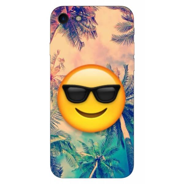 Husa Silicon Soft Upzz Print iPhone 7/iphone 8 Model Smille imagine itelmobile.ro 2021