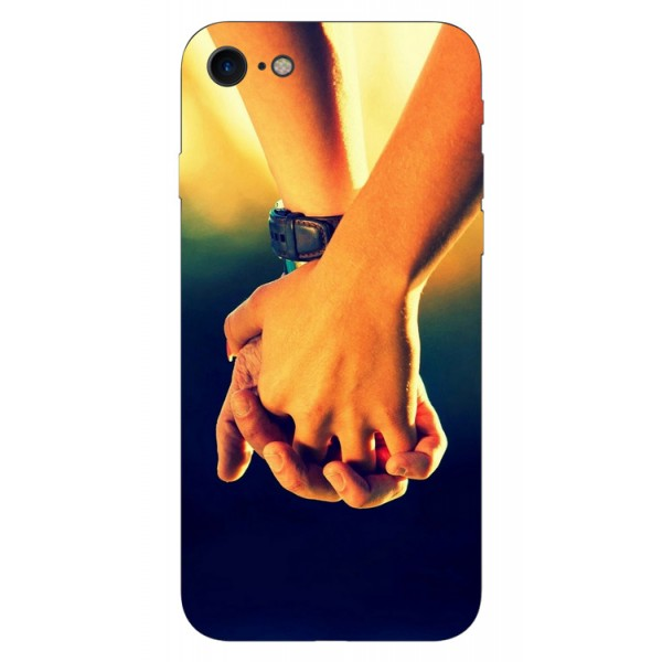 Husa Silicon Soft Upzz Print iPhone 7/iphone 8 Model Together imagine itelmobile.ro 2021