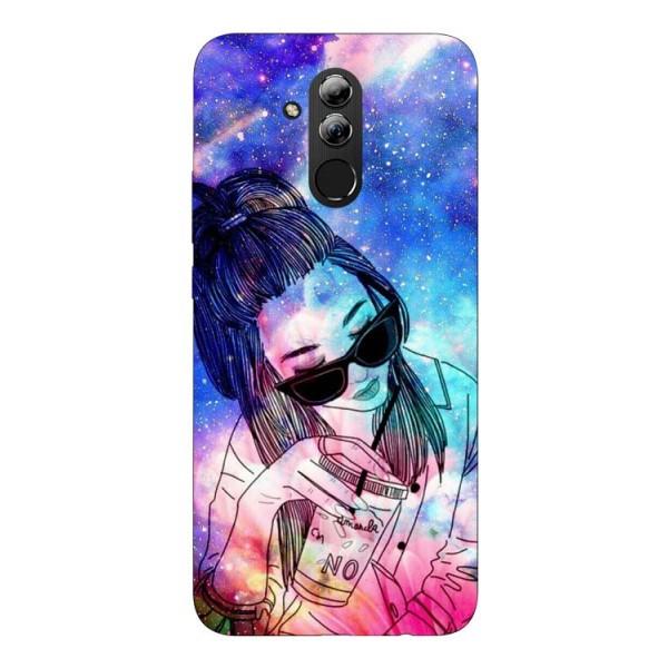 Husa Silicon Soft Upzz Print Huawei Mate 20 Lite Model Universe Girl imagine itelmobile.ro 2021