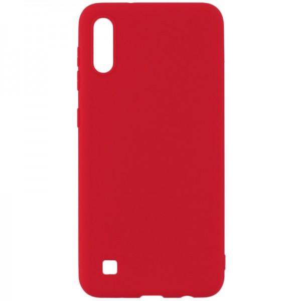 Husa Silicon Slim Upzz Samsung Galaxy M10 Red imagine itelmobile.ro 2021