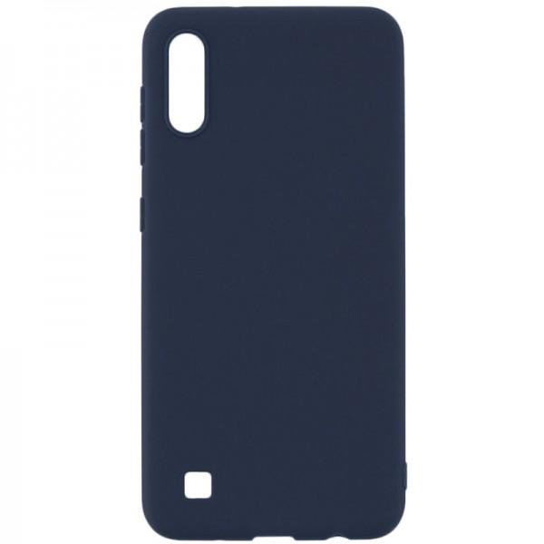 Husa Silicon Slim Upzz Samsung Galaxy M10 Navy Blue imagine itelmobile.ro 2021