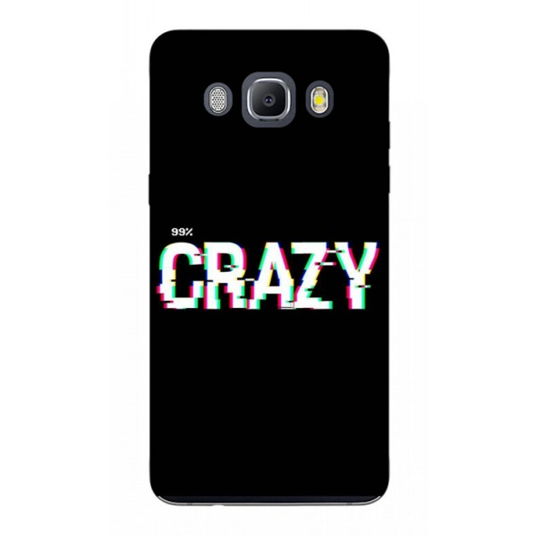 Husa Silicon Soft Upzz Print Samsung J5 2016 Model Crazy imagine itelmobile.ro 2021