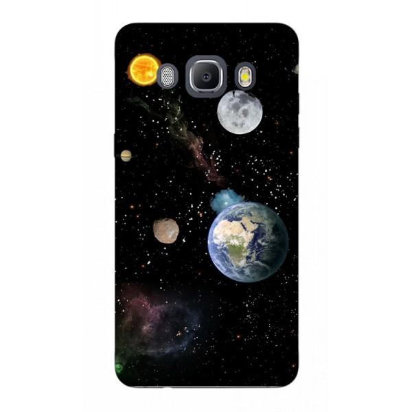 Husa Silicon Soft Upzz Print Samsung J5 2016 Model Earth imagine itelmobile.ro 2021