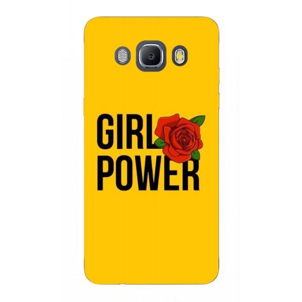 Husa Silicon Soft Upzz Print Samsung J5 2016 Model Girl Power imagine itelmobile.ro 2021
