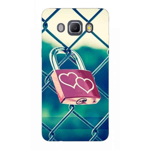 Husa Silicon Soft Upzz Print Samsung J5 2016 Model Heart Lock imagine itelmobile.ro 2021