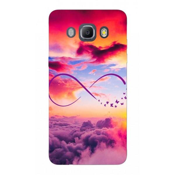 Husa Silicon Soft Upzz Print Samsung J5 2016 Model Infinity imagine itelmobile.ro 2021