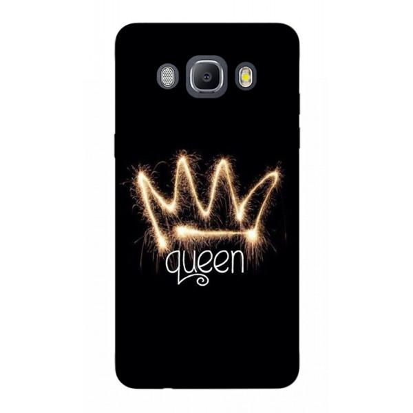 Husa Silicon Soft Upzz Print Samsung J5 2016 Model Queen imagine itelmobile.ro 2021