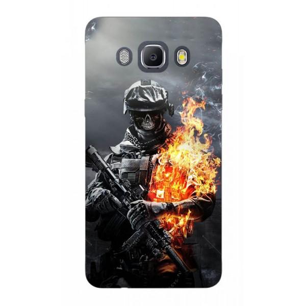 Husa Silicon Soft Upzz Print Samsung J5 2016 Model Soldier imagine itelmobile.ro 2021