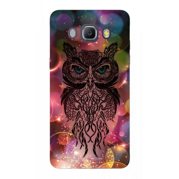 Husa Silicon Soft Upzz Print Samsung J5 2016 Model Sparkle Owl imagine itelmobile.ro 2021