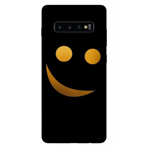 Husa Silicon Soft Upzz Print Samsung Galaxy S10 Model Danger imagine itelmobile.ro 2021