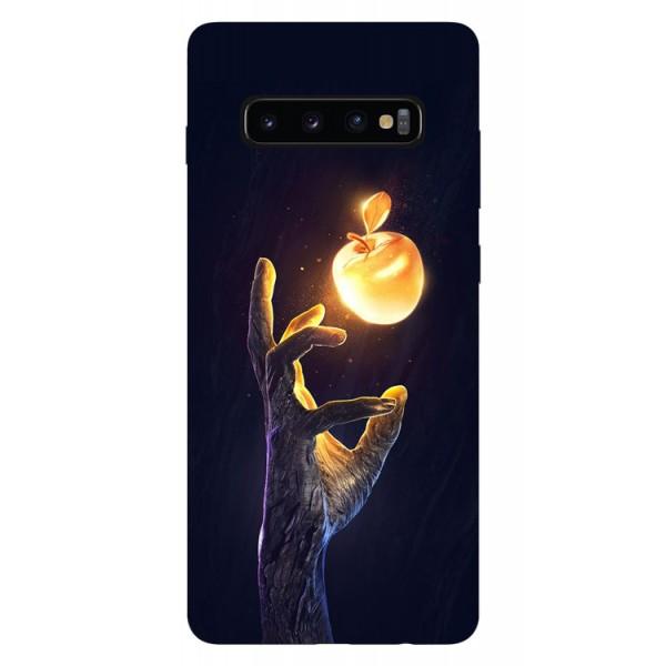 Husa Silicon Soft Upzz Print Samsung Galaxy S10 Model Reach imagine itelmobile.ro 2021