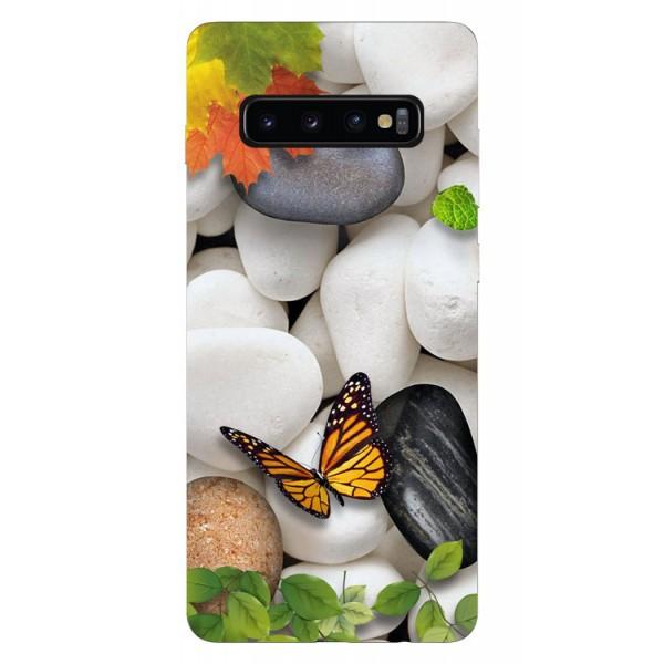 Husa Silicon Soft Upzz Print Samsung Galaxy S10 Model Zen imagine itelmobile.ro 2021
