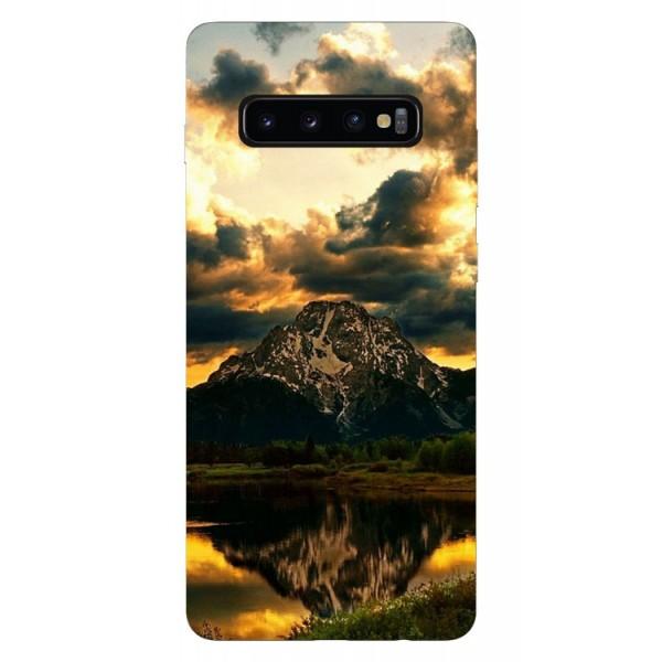 Husa Silicon Soft Upzz Print Samsung Galaxy S10 Plus Model Apus imagine itelmobile.ro 2021