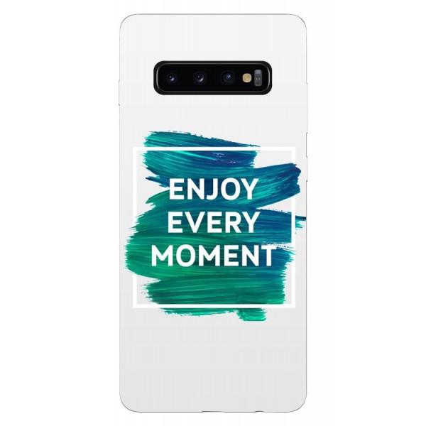 Husa Silicon Soft Upzz Print Samsung Galaxy S10 Plus Model Enjoy imagine itelmobile.ro 2021