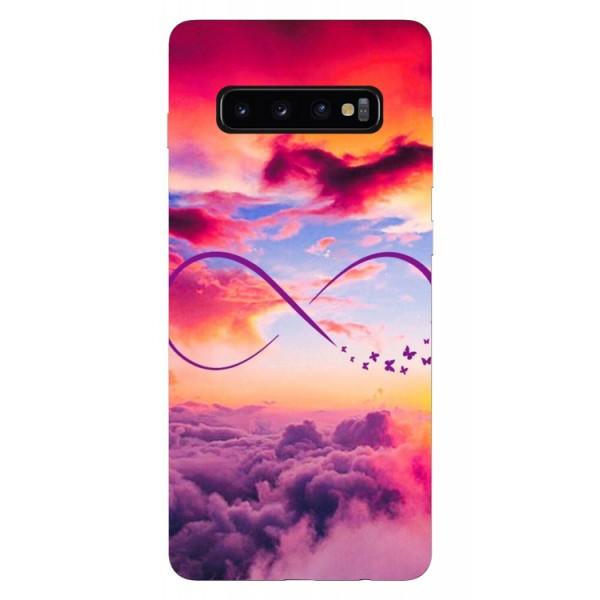 Husa Silicon Soft Upzz Print Samsung Galaxy S10 Plus Model Infinity imagine itelmobile.ro 2021