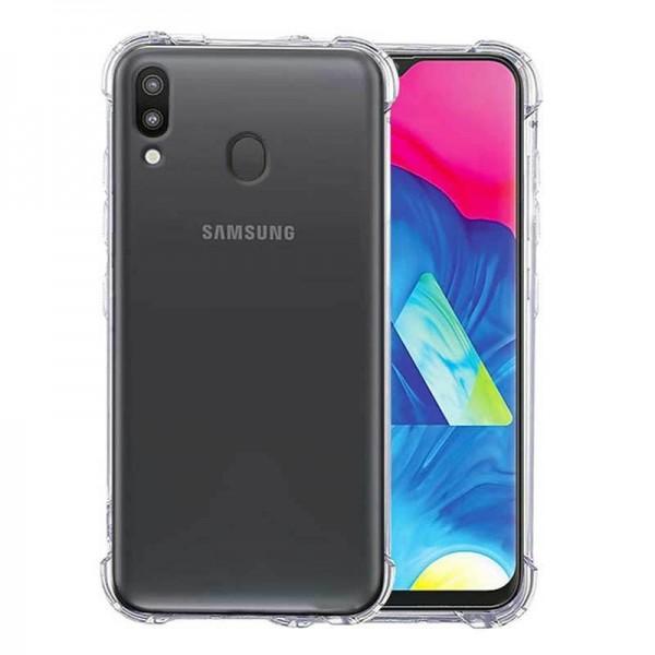 Husa Premium Roar Anti-shock Tpu Silicon Crystal Clear Samsung Galaxy M20 Transparenta imagine itelmobile.ro 2021