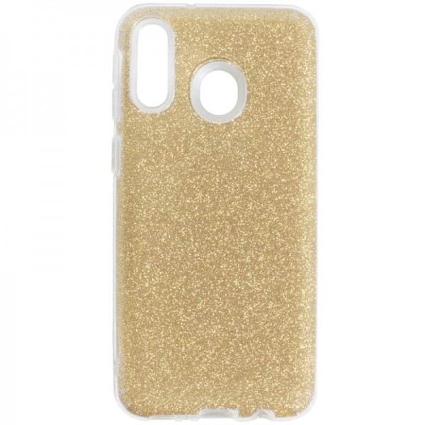 Husa Spate Upzz Shiny Lux Samsung Galaxy M20 Gold imagine itelmobile.ro 2021