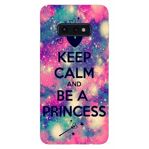 Husa Silicon Soft Upzz Print Samsung Galaxy S10e Model Be Princess imagine itelmobile.ro 2021