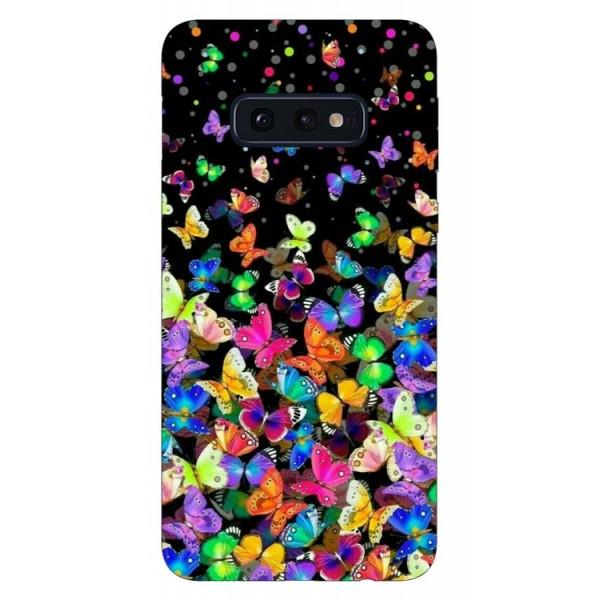 Husa Silicon Soft Upzz Print Samsung Galaxy S10e Model Colorature imagine itelmobile.ro 2021