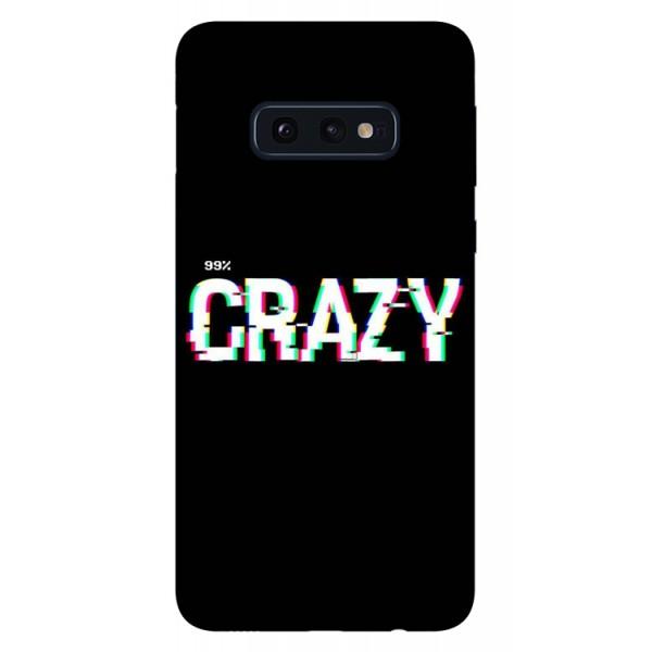 Husa Silicon Soft Upzz Print Samsung Galaxy S10e Model Crazy imagine itelmobile.ro 2021