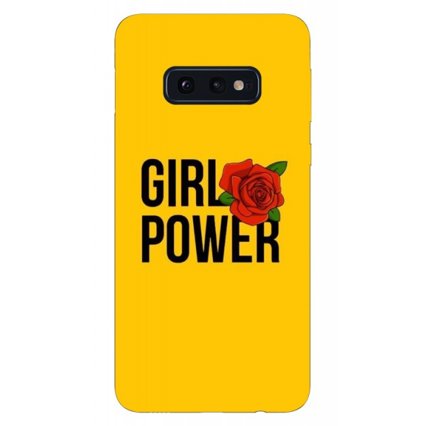Husa Silicon Soft Upzz Print Samsung Galaxy S10e Model Girl Power imagine itelmobile.ro 2021