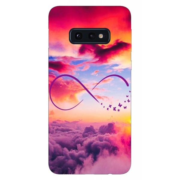 Husa Silicon Soft Upzz Print Samsung Galaxy S10e Model Infinity imagine itelmobile.ro 2021