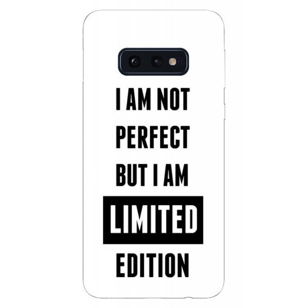 Husa Silicon Soft Upzz Print Samsung Galaxy S10e Model Limited Edition imagine itelmobile.ro 2021