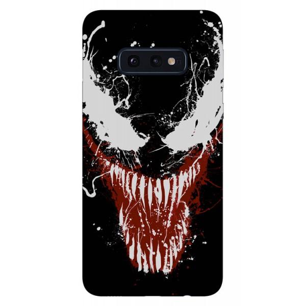 Husa Silicon Soft Upzz Print Samsung Galaxy S10e Model Monster imagine itelmobile.ro 2021
