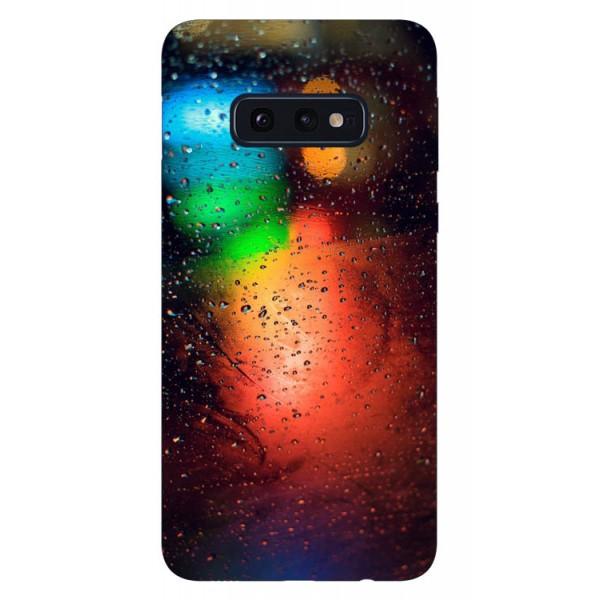 Husa Silicon Soft Upzz Print Samsung Galaxy S10e Model Multicolor imagine itelmobile.ro 2021