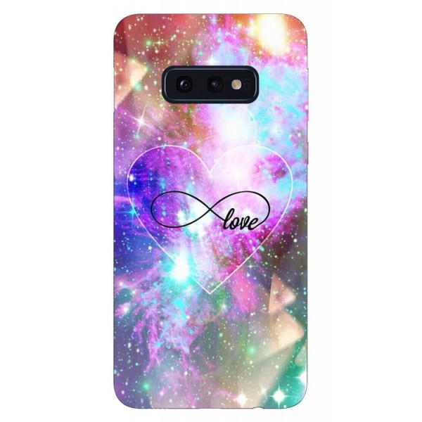 Husa Silicon Soft Upzz Print Samsung Galaxy S10e Model Neon Love imagine itelmobile.ro 2021