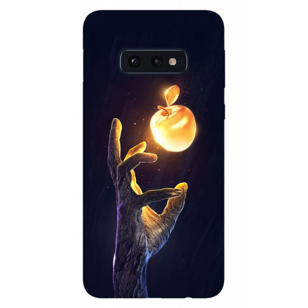 Husa Silicon Soft Upzz Print Samsung Galaxy S10e Model Reach imagine itelmobile.ro 2021