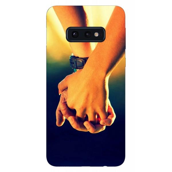 Husa Silicon Soft Upzz Print Samsung Galaxy S10e Model Together imagine itelmobile.ro 2021