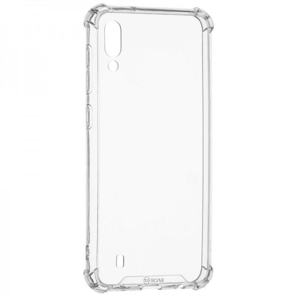 Husa Premium Roar Anti-shock Tpu Silicon Crystal Clear Samsung Galaxy M10 Transparenta imagine itelmobile.ro 2021