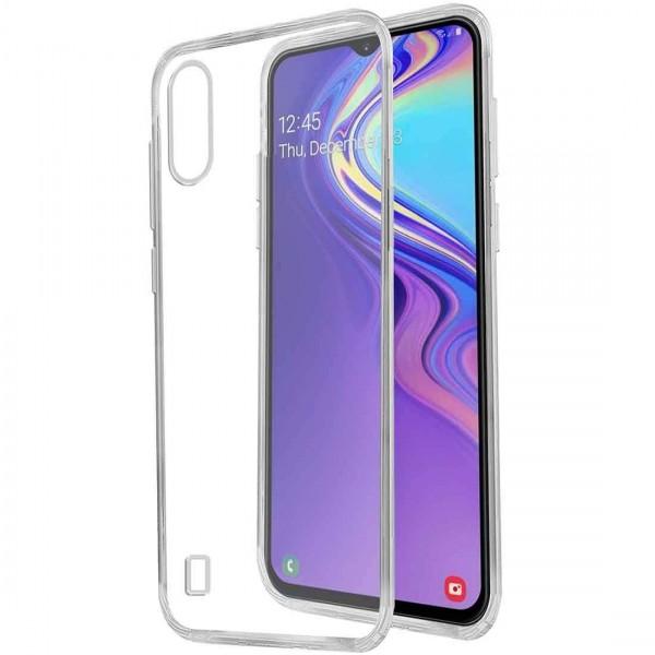 Husa Upzz Spate Ultra Slim Samsung Galaxy M10 , 0,5mm ,silicon ,transparenta imagine itelmobile.ro 2021