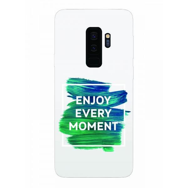 Husa Silicon Soft Upzz Print Samsung Galaxy S9+ Plus Model Enjoy imagine itelmobile.ro 2021